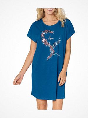 Triumph Lounge Me Cotton Nightdress Blue