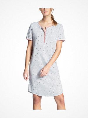 Calida Sweet Dreams Sleepshirt White Pattern-2
