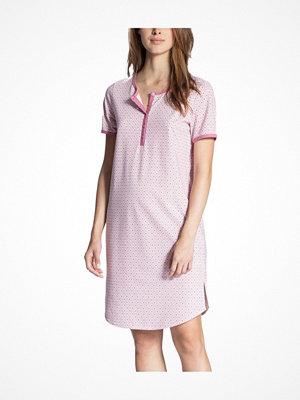 Calida Cosy Jersey Fun Sleepshirt Pink Pattern
