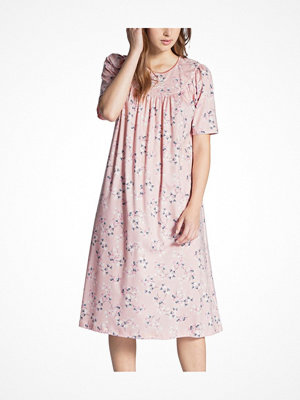 Nattlinnen - Calida Soft Cotton Nightshirt 34000 Pink Pattern