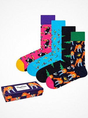 Happy Socks 4-pack Happy Socks Animal Gift Box Multi-colour