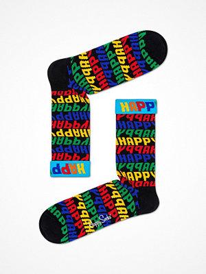 Happy Socks Happy Socks Jumbo Text Sock Multi-colour