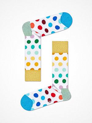 Happy Socks Happy Socks Big Dot Sock White Pattern-2
