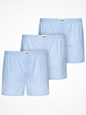 Jockey 3-pack Woven Soft Poplin Boxer Shorts 3XL-6XL Lightblue