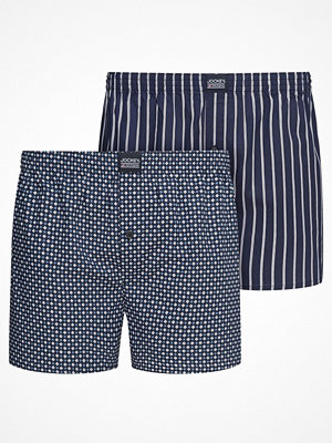 Jockey 2-pack Woven Boxer Shorts 3XL-6XL Navy-2