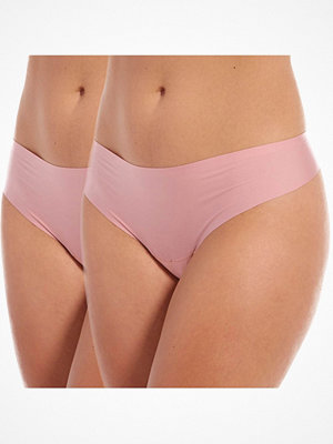 Magic 2-pack MAGIC Dream Invisibles Thong Pink