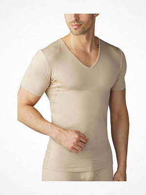 Mey Dry Cotton Functional Slim T-Shirt Beige