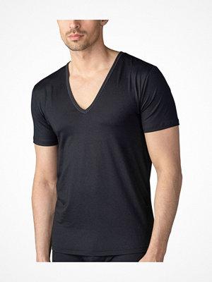 Mey Dry Cotton Functional V-Neck Shirt Black