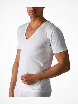 Mey Dry Cotton Functional V-Neck Shirt White
