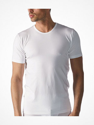 Mey Dry Cotton Functional Rounded Neck Shirt White