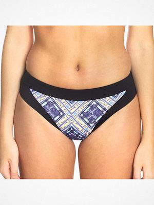 Sunseeker Tribe Attack Full Classic Bikini Panty Black pattern-2