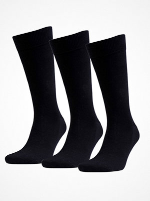 Strumpor - Amanda Christensen 3-pack True Combed Cotton Sock Black