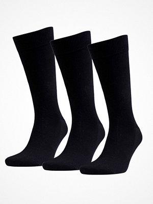 Amanda Christensen 3-pack True Combed Cotton Sock Black