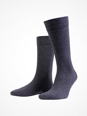 Amanda Christensen True Combed Cotton Sock Anthracite