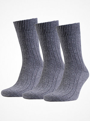 Strumpor - Amanda Christensen 3-pack Supreme Wool Sock Grey