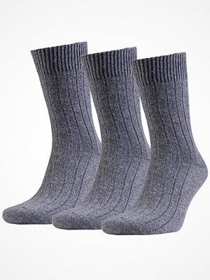 Amanda Christensen 3-pack Supreme Wool Sock Grey