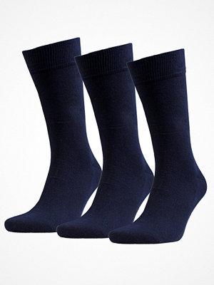 Amanda Christensen 3-pack True Combed Cotton Sock Navy-2