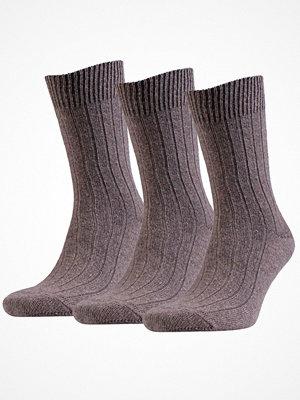 Amanda Christensen 3-pack Supreme Wool Sock Brown