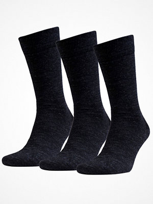 Amanda Christensen 3-pack Grade Merino Wool Sock Anthracite