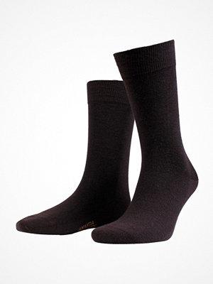 Amanda Christensen Grade Merino Wool Sock Darkbrown