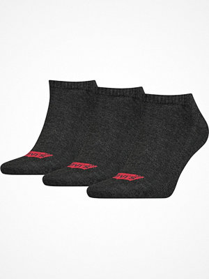 Levi's 3-pack Base Low Cut Sock Anthracite