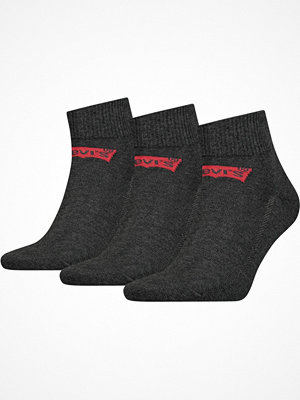 Levi's 3-pack Base Mid Cut Sock Anthracite