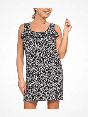Nattlinnen - Saltabad Feelings by  Leo Rita Dress Leopard