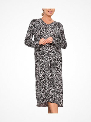 Nattlinnen - Saltabad Feelings by  Leo Marianne Long Dress Leopard
