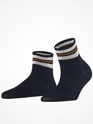 Strumpor - Falke Women Seasonal Style Flow Socks Navy-2