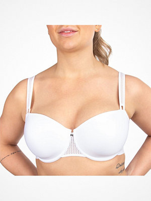 Chantelle Motif T-shirt Bra White