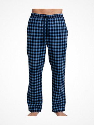 Gant PJ Pants Flannel Navy-2