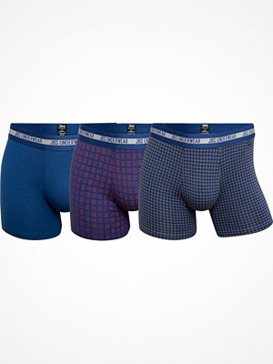 JBS 3-pack Bamboo Blend Tights Blue/Red