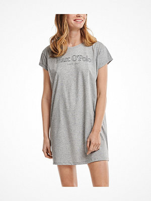 Marc O'Polo Marc O Polo Women Sleepshirt Crew Neck Grey