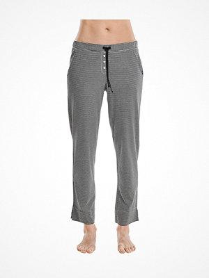 Pyjamas & myskläder - Marc O'Polo Marc O Polo Mix Program Modal Pants Black striped