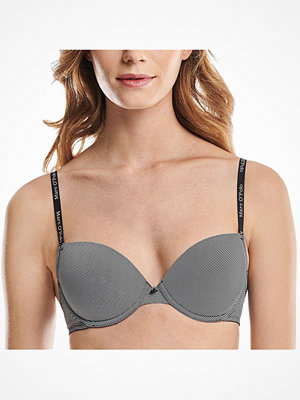 Marc O'Polo Marc O Polo Micro Stripe Padded Underwire Bra Black striped