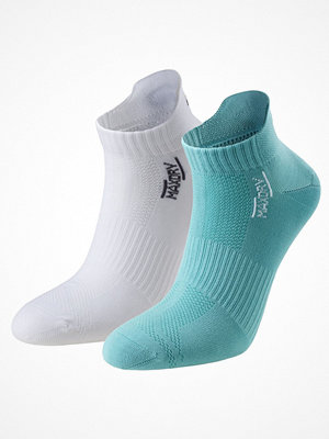 Strumpor - Pierre Robert 2-pack Low Cut Socks Women White/Green