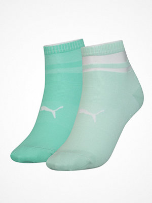 Strumpor - Puma 2-pack Short Structure Socks Mint green