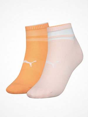 Strumpor - Puma 2-pack Short Structure Socks Orange