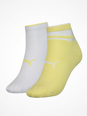 Puma 2-pack Short Structure Socks Yellow