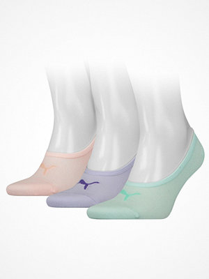 Puma 3-pack Footie Socks Pink/Lilac