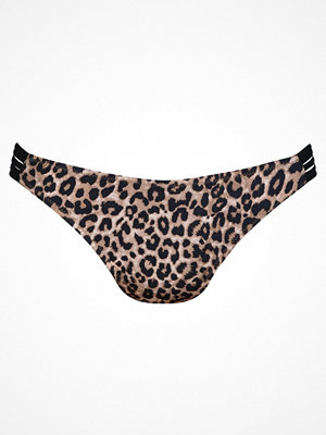 Rosa Faia Animal Safari Bree Bikini Bottom  Leopard