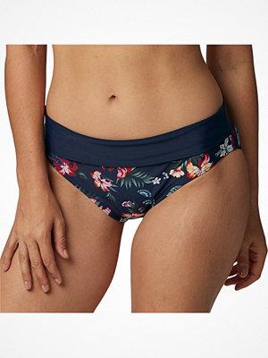 Abecita Hawaii Folded Bikini Brief Blue Pattern