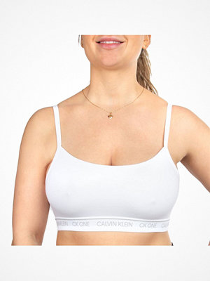 Calvin Klein One Cotton Bralette White
