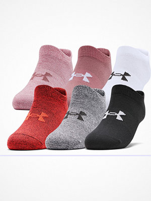 Under Armour 6-pack Essential No Show Socks Multi-colour
