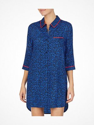 Nattlinnen - DKNY Color Theory Sleepshirt Blue Pattern