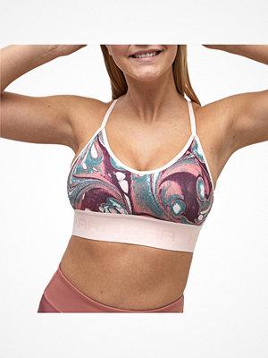 Kari Traa Var Sports Bra Pink Pattern