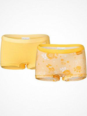 Pierre Robert 2-pack X Jenny Skavlan Kids Boxer For Girls Yellow