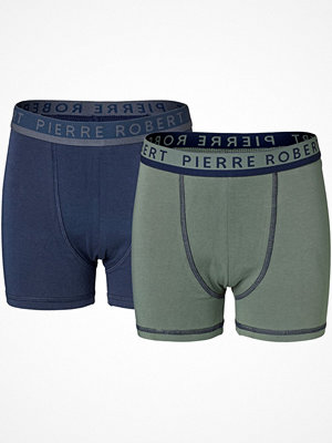 Pierre Robert 2-pack X Jenny Skavlan Boxer For Boys Green