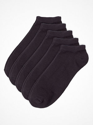 Strumpor - Pierre Robert 5-pack Low Cut Socks Black