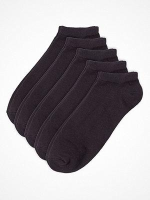 Pierre Robert 5-pack Low Cut Socks Black